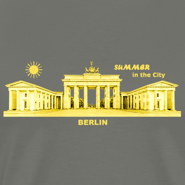 Sommer Berlin City Brandenburger Tor Hauptstadt