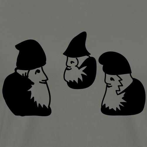 Waldorf Zwerge - Männer Premium T-Shirt