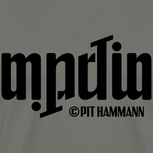 Ambigramm Martin 01 Pit Hammann