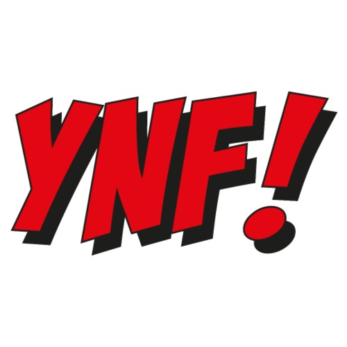 YNF! - Premium-T-shirt herr