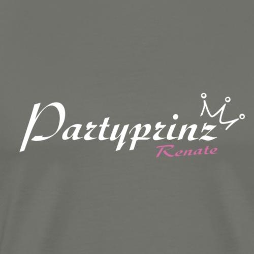 Logo Party Prinz hell - Männer Premium T-Shirt
