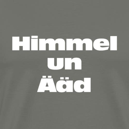 Himmel un Ääd - Männer Premium T-Shirt