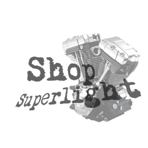 ShopSuperlight Logo stor - Herre premium T-shirt