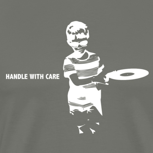 T-Record - Handle with care - Mannen Premium T-shirt