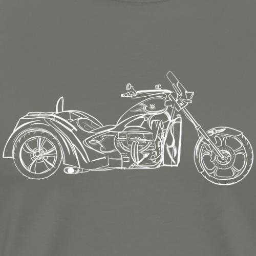 V8 Choppers Touring Trike - T-shirt Premium Homme