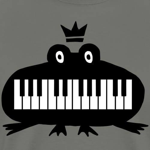 Pianofrosch - Männer Premium T-Shirt