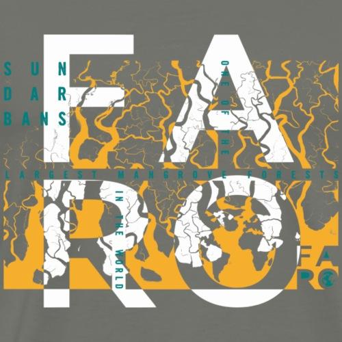 Sundarbans meets FARO - Männer Premium T-Shirt