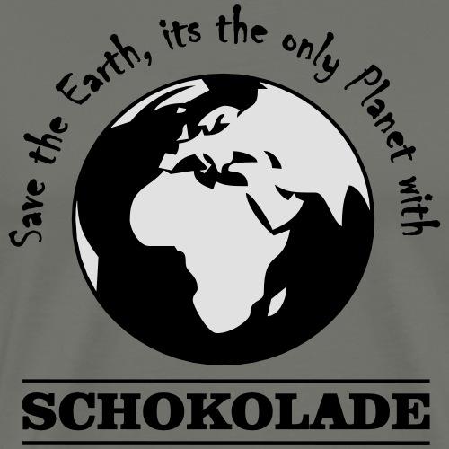 Schokolade - Girl - Tank Top - Männer Premium T-Shirt