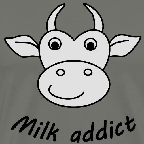 Geburt Baby Milk addict birth pregnancy - Männer Premium T-Shirt