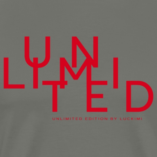Unlimited red - Premium-T-shirt herr