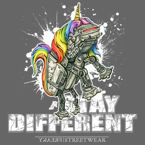 Stay Different - Imperial Unicorn - Männer Premium T-Shirt