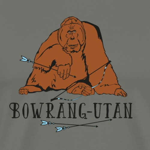 Bowrang-Utan (Bogenschießen by BOWTIQUE) - Männer Premium T-Shirt