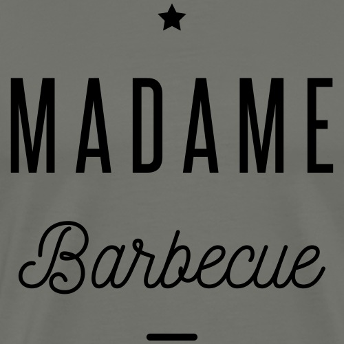 madame barbecue - T-shirt Premium Homme