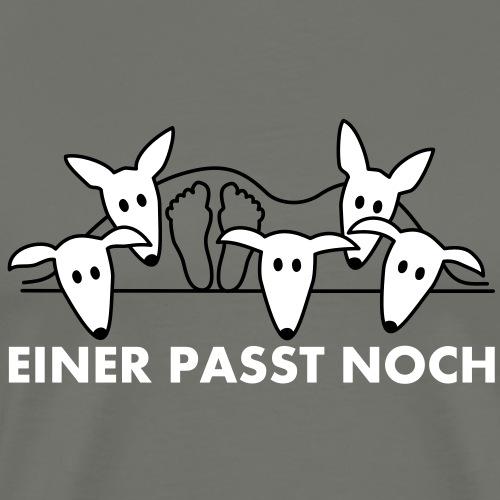 Einer paßt noch - Podenco und Galgo - Männer Premium T-Shirt