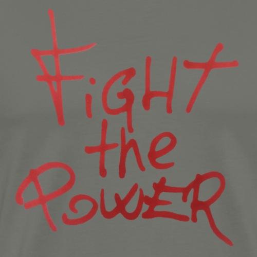 Fight the power - Camiseta premium hombre