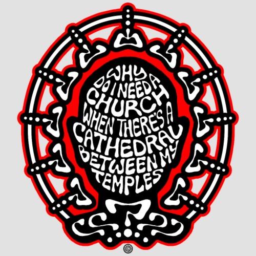 FREE THINKER (black/white/red) - Men's Premium T-Shirt