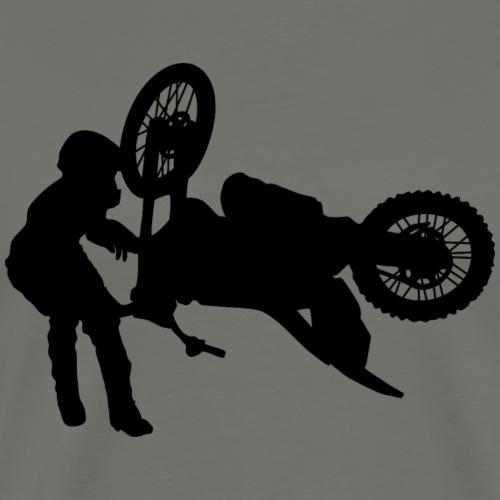 Rider-2-4-1 couleur-F - T-shirt Premium Homme