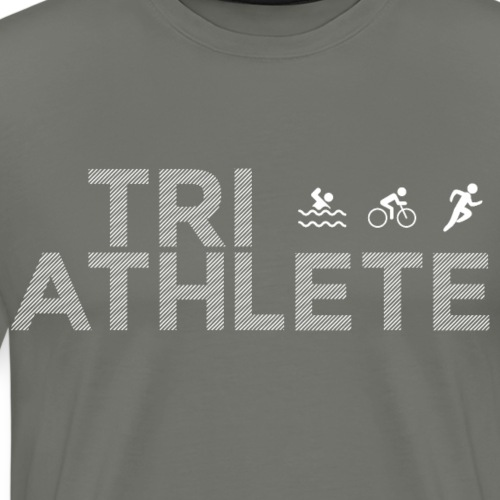 Triathlet Laufshirt Geschenk für Triathleten - Männer Premium T-Shirt