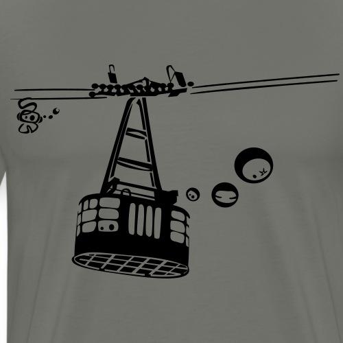 Téléphérique des Grands Montets 70's - T-shirt Premium Homme