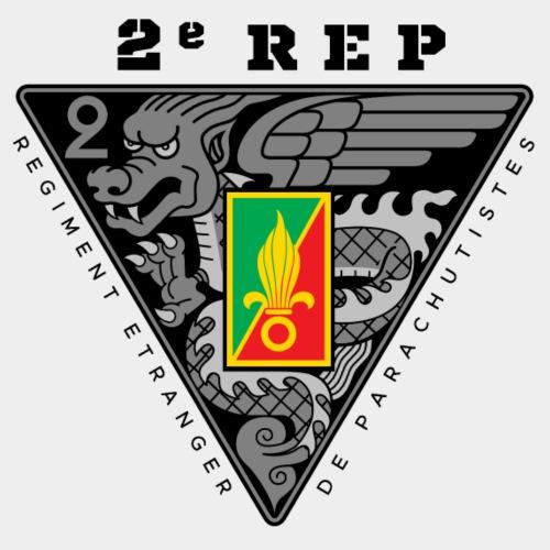 2e REP - 2 REP - Legion - Dark - Men's Premium T-Shirt