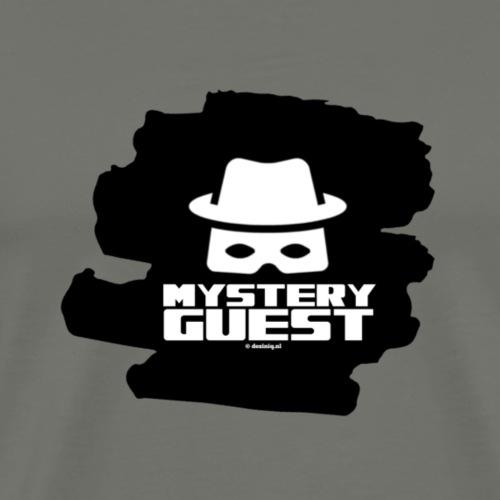 Mystery Guest - Mannen Premium T-shirt