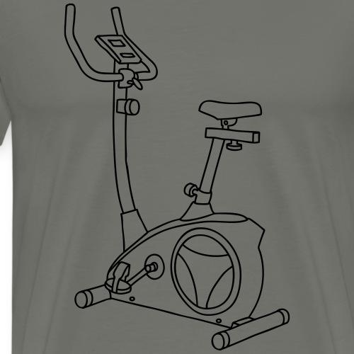 Hometrainer Trimmdich-Rad - Männer Premium T-Shirt