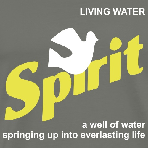 Living Water (JESUS-shirts) - Männer Premium T-Shirt