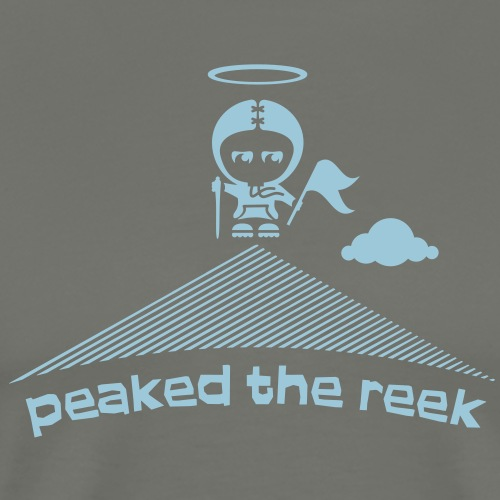 Peaked the Reek! (Croagh Patrick Mountain) - Men's Premium T-Shirt