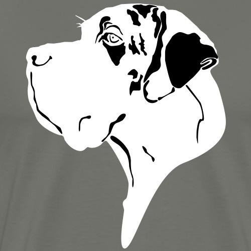 Doggenschädel - Männer Premium T-Shirt