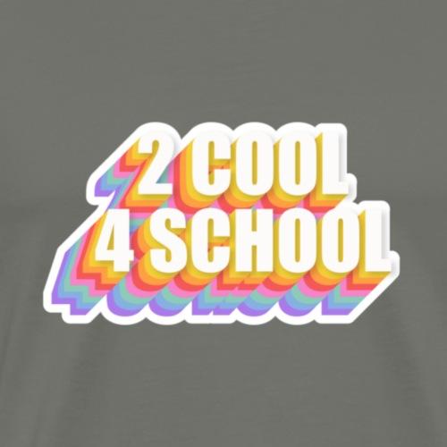 back to school - Men's Premium T-Shirt