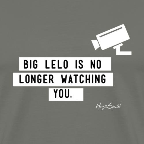 Examensshirt: Big Lelo is no longer watching you! - Männer Premium T-Shirt