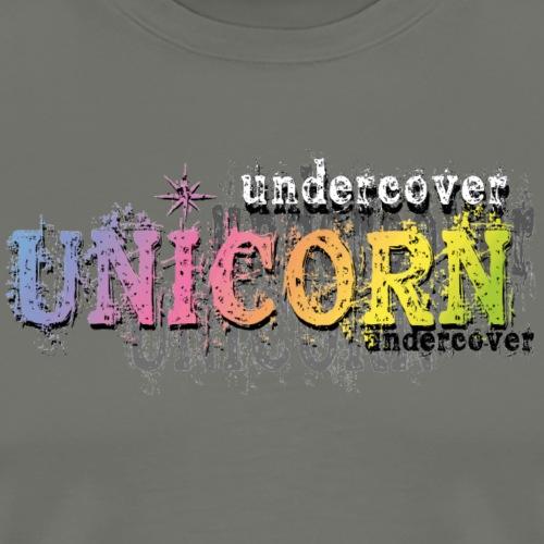 Undercover Unicorn - T-shirt Premium Homme