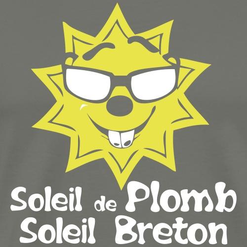 soleil plomb breton citation humour _711 - T-shirt Premium Homme