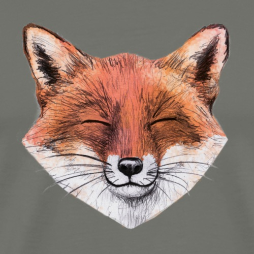 happy Fox - Männer Premium T-Shirt
