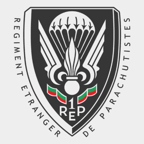 1er REP - 1 REP - Legion - Dark - Men's Premium T-Shirt