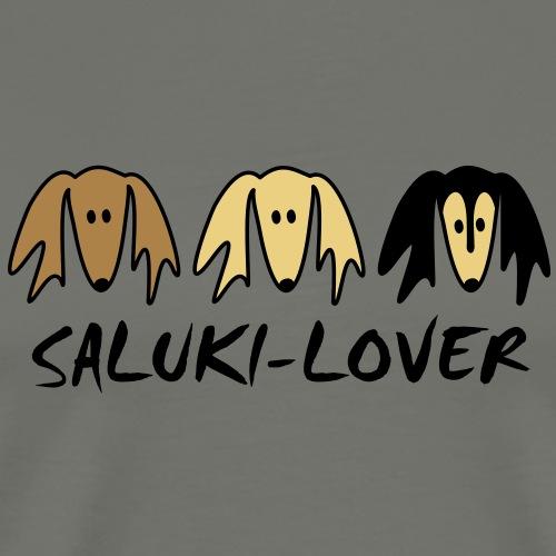 salukilover - Männer Premium T-Shirt