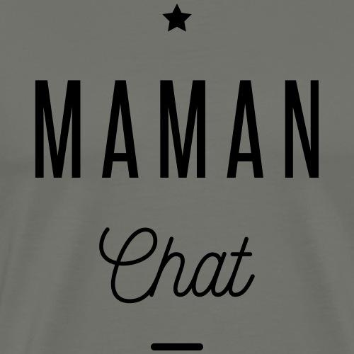maman chat - T-shirt Premium Homme