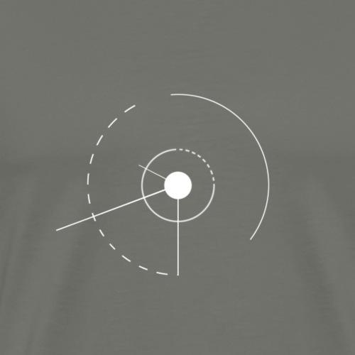 angles et cercles - T-shirt Premium Homme