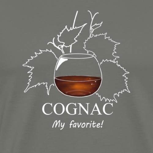 cognac - T-shirt Premium Homme