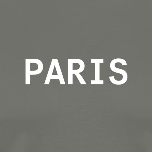 Paris Bianco - Maglietta Premium da uomo