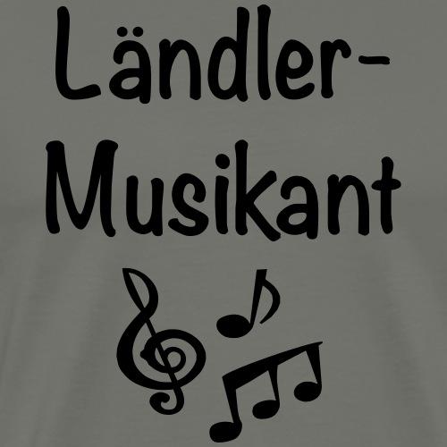 Ländlermusikant - Männer Premium T-Shirt
