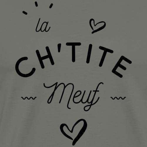 La ch'tite meuf - T-shirt Premium Homme