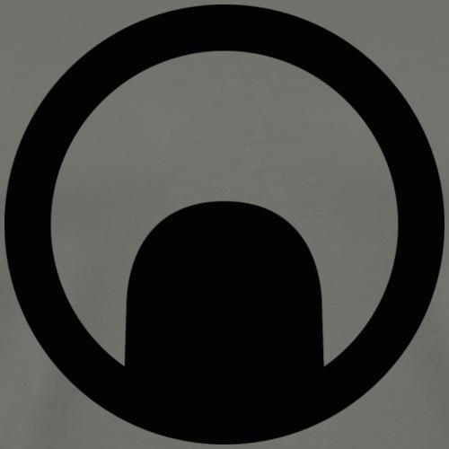 Nouvel emblème (Noir) - T-shirt Premium Homme