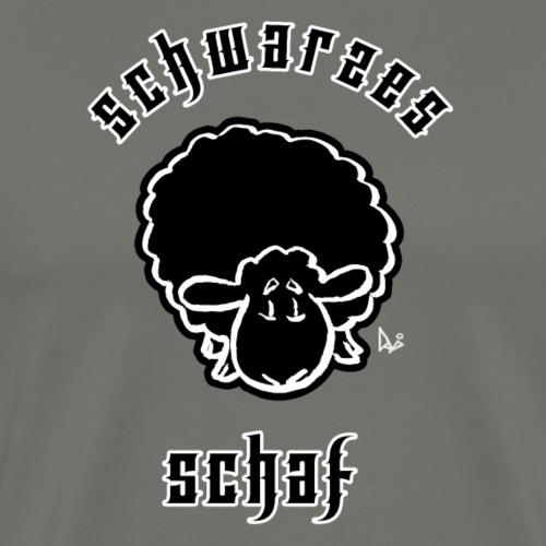 Schwarzes Schaf (Black Sheep) - Premium T-skjorte for menn
