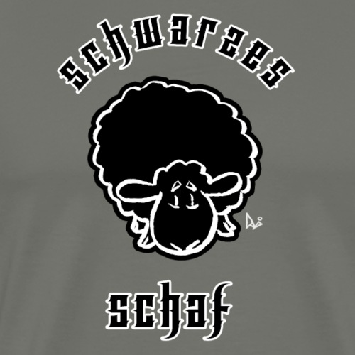 Schwarzes Schaf (Black Sheep) - Premium T-skjorte for menn