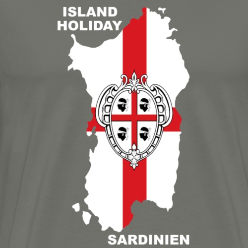 Sardinien Insel Urlaub Holiday - Männer Premium T-Shirt