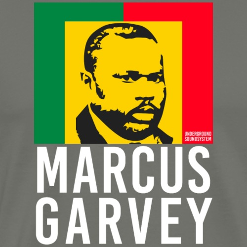 MARCUS GARVEY Black King - Männer Premium T-Shirt