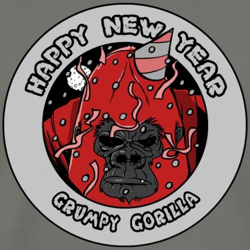 Happy New Year Gorilla - T-shirt Premium Homme
