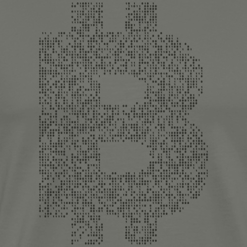 BTC blockchain - Men's Premium T-Shirt