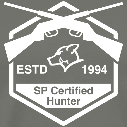SP Certified Hunter - Männer Premium T-Shirt